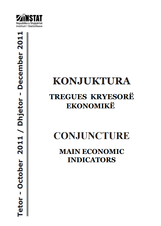 Conjucture, Main Economic Indicators, October-December 2011