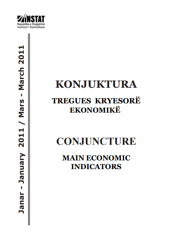 Conjucture, Main Economic Indicators, January-March 2011