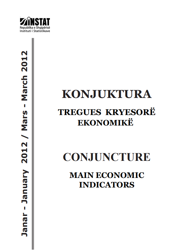 Conjucture, Main Economic Indicators, January-March 2012