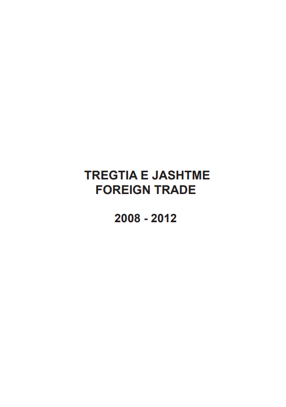 Foreign Trade 2008-2012